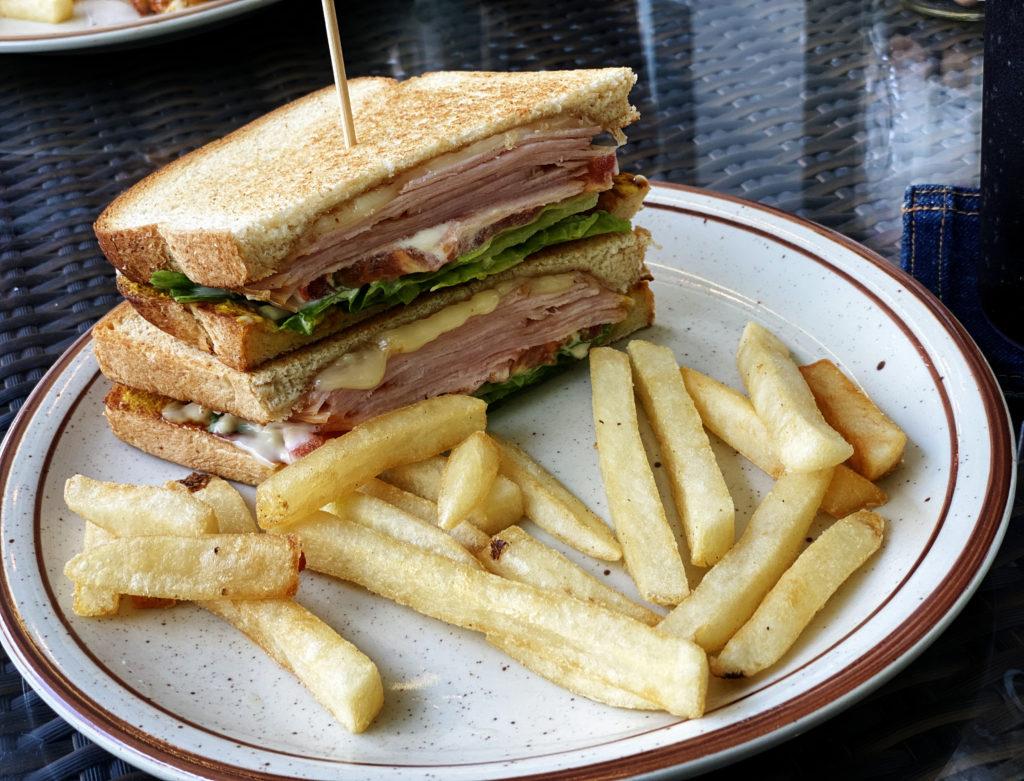 ローストターキーサンドイッチ